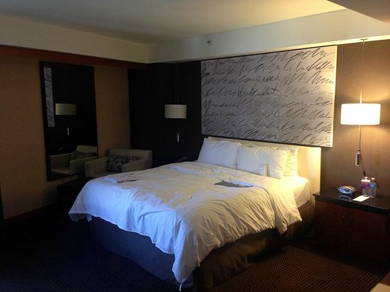 Le Meridien San Francisco: Comfortable bedding