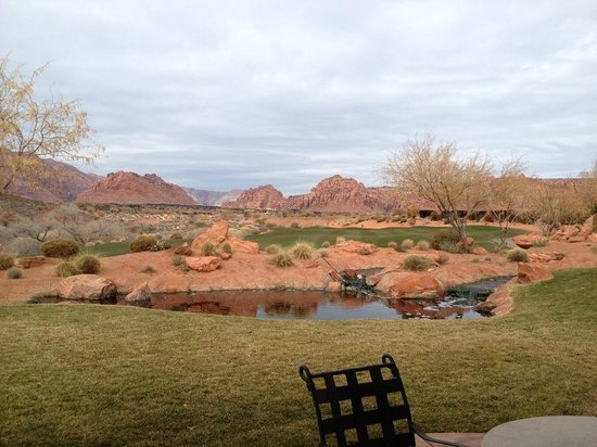 The Inn at Entrada: View from our townhome