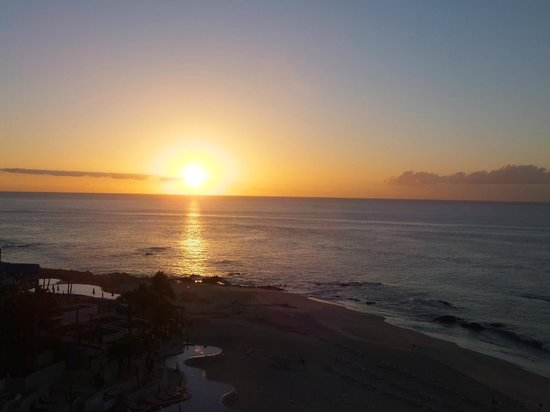 The Westin Los Cabos Resort Villas & Spa: beautiful sunset from balcony