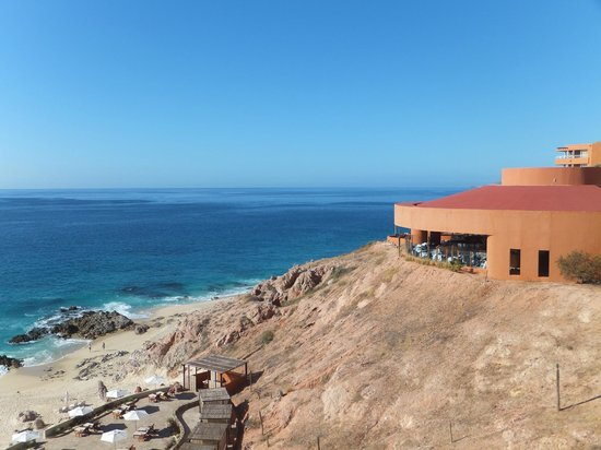 The Westin Los Cabos Resort Villas & Spa: View of restaurant from room
