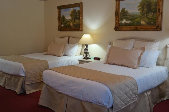 Grass Valley Courtyard Suites : Room for more in a Standard Queen/Queen