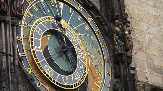 Old Town Hall and Astronomical Clock : The astronomical clock!