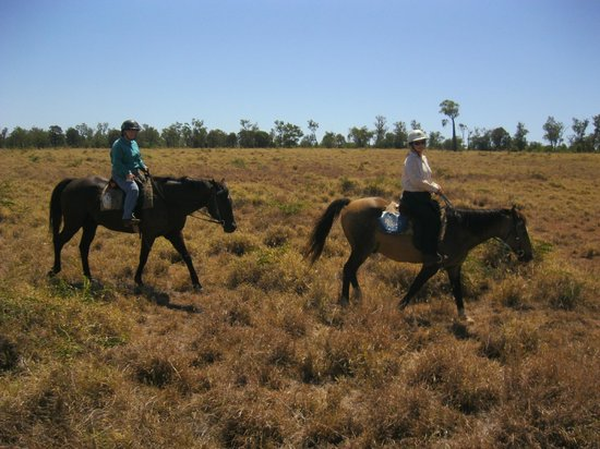 Myella Farm Stay: Horseback Riding in the Outback