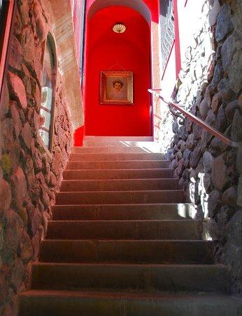 Hotel Boutique Castillo Rojo: Escalera al cielo.....