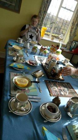 Thornley House: breakfast