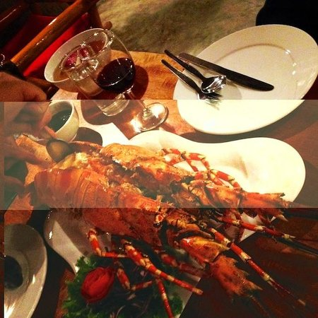L. Maladee Restaurant : Rainbow Languste - Simone ;-)