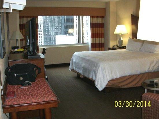 Hampton Inn Manhattan-Times Square North: Spacious King Bed Study