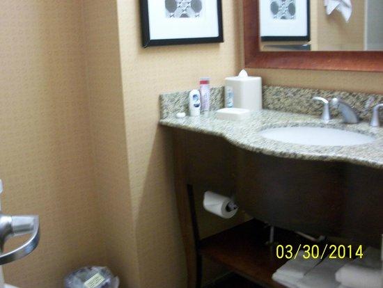 Hampton Inn Manhattan-Times Square North: Vanity - Clean Bathroom