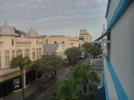 Pegasus International Hotel: vista da Duval st