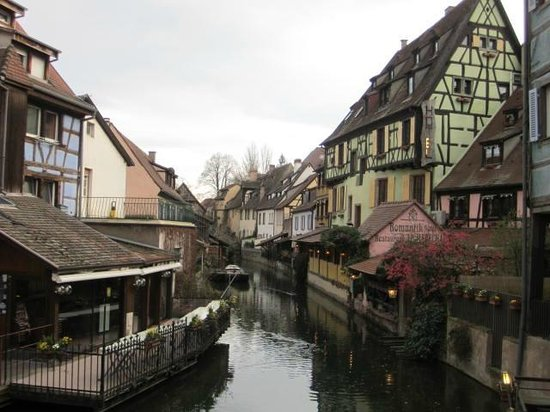 Hotel le Colombier : Nearby canal view