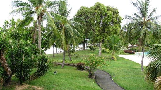 Le Meridien Tahiti: View from our balcony