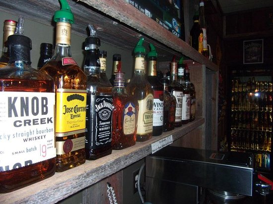 Barn Board Grill & Saloon : Barnboard Whiskey Selection