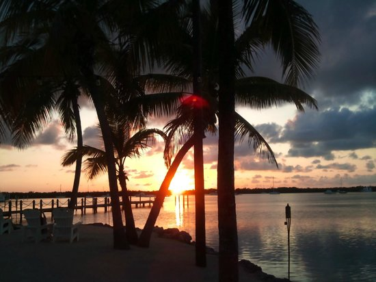 Coconut Palm Inn: Perfect place to watch the sun set.