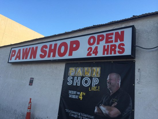 Gold and Silver Pawn Shop : Side