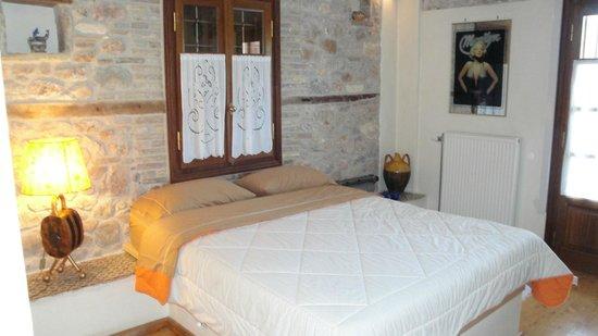 Archontiko Art Hotel : το δωμάτιο όπου μείναμε