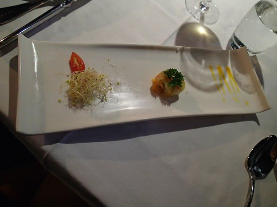 Le Meridien Tahiti: Appetizer at Restaurant Le Carre