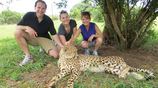 Heritage Day Tours & Safaris : So glad we added a 4th day onto our 3-day package - the Cheetah Park (and other cats).