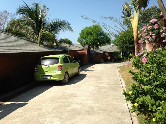 Alanta Villa: Outside villa walls
