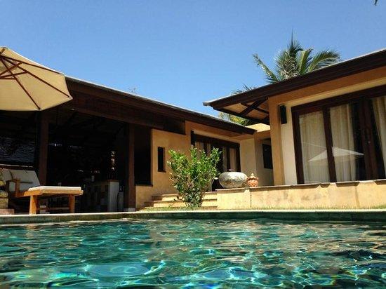 Alanta Villa: View from pool