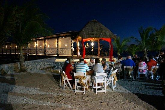 El Dorado Sensimar Riviera Maya: Monday dinner