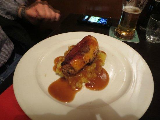 Le Berthoud: pollo ripieno