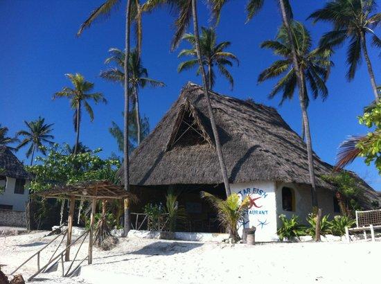 Muba guest house: Ristorante Starfish della Guest House