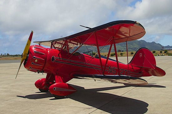 Air Ventures Hawaii: Bi-Plane Picture on Ramp