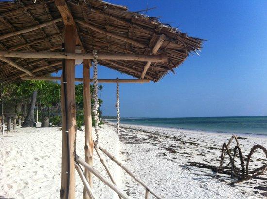 Muba guest house : spiaggia antestante - uscita ristorante