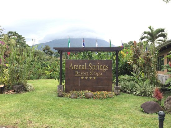 Arenal Springs Resort and Spa : Entrada