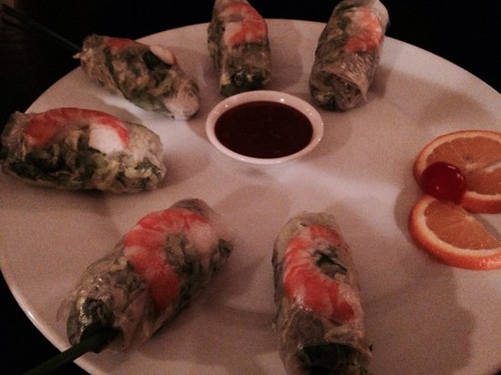 Sao Nam Vietnamese Cuisine : The fresh rolls