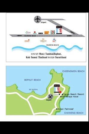 Samui Délice: Maps