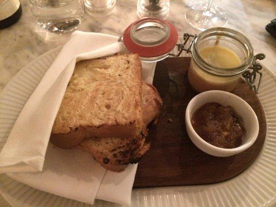 Cote Brasserie - Reading: Chicken Parfait starter