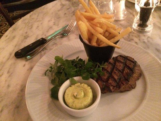 Cote Brasserie - Reading: Fillet steak with garlic butter