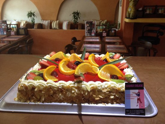 Samui Délice: Strawberry cake