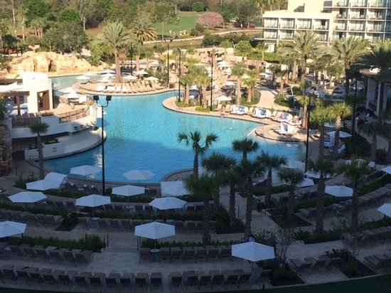Orlando World Center Marriott: View from our room