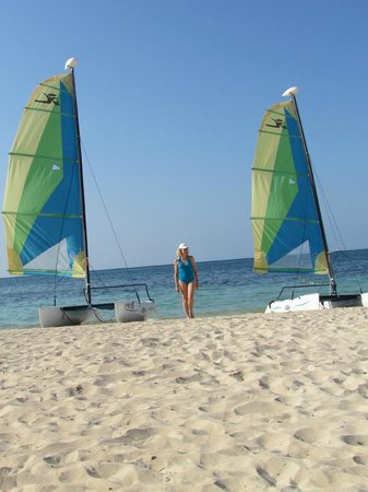 Iberostar Rose Hall Suites: Sailing was so much fun