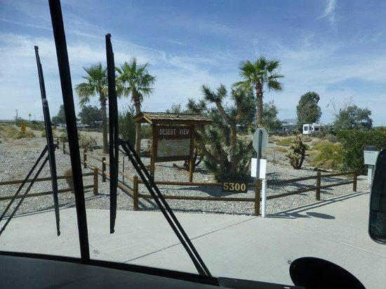 Desert View RV Resort: Signage on Route 66 entrance