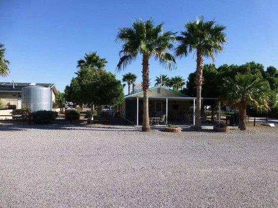 Desert View RV Resort: Club house