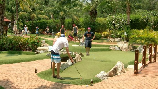 Phuket Adventure Mini Golf: Stag Party