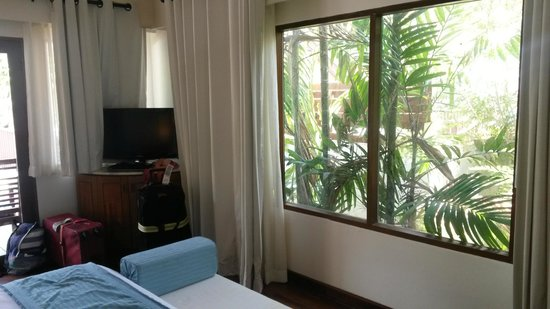 Centara Villas Samui: our window in room