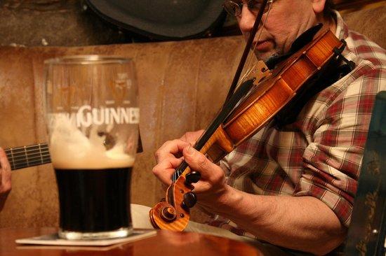 Miltown Malbay, Ireland: Hillery's Bar  - Traditional Irish Music Session -