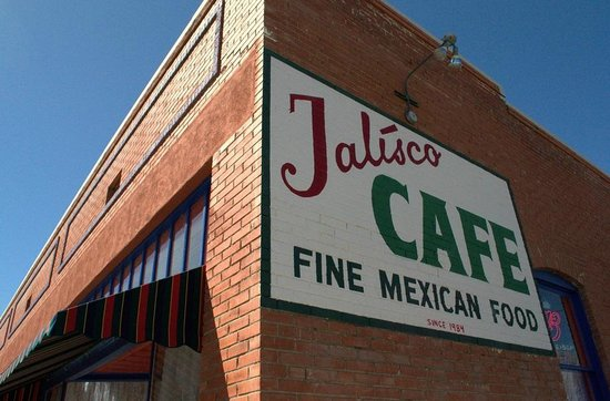 The Jalisco Cafe: From the corner of Spring and Bullard