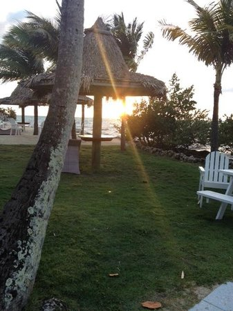 Lime Tree Bay Resort : Great Sunset