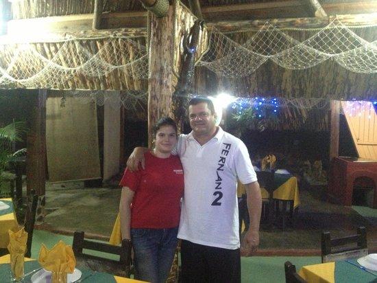 Restaurant Fernan-2 : Fernando and his daughter