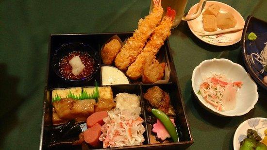 """Meitonomori Hotel Kitafukuro: """"出張""""夕食"""
