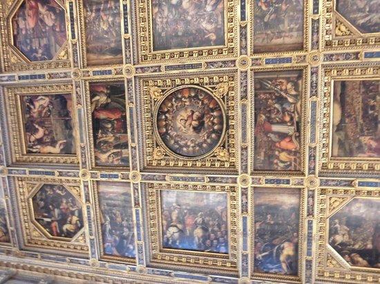Particolare soffitto - Foto di Palazzo Vecchio, Firenze - TripAdvisor
