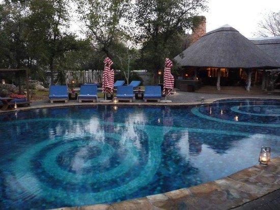 Singita Pamushana Lodge: Swimming Pool
