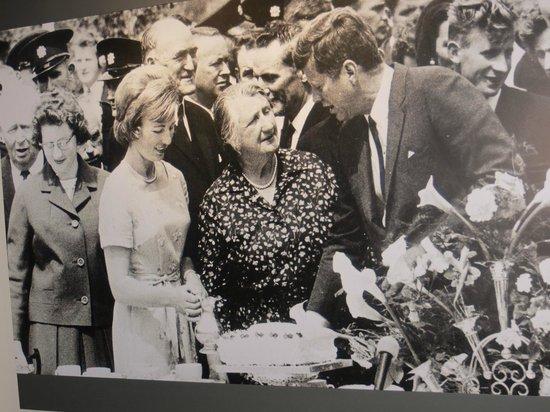 Kennedy Homestead: JFK meets his Ryan Cousins at Dunganstown, June 1963