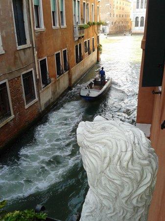 Locanda Ca' San Marcuola : From the balcony towards the main canal...