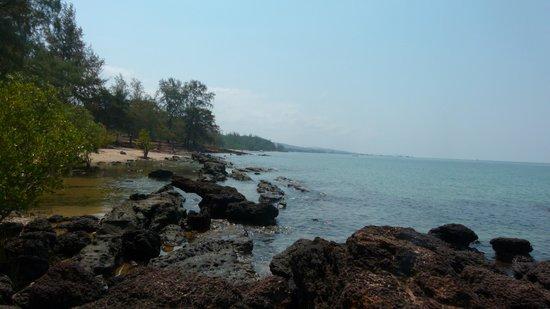 Mango Bay Resort: La plage